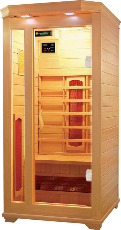 photo of a far infrared personal sauna